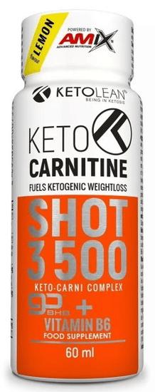 Amix Nutrition KetoLean Keto goBHB + Carnitine Shot 60ml