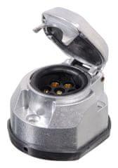 Compass Zásuvka tažného zařízení 7 pólů ALU COMPASS