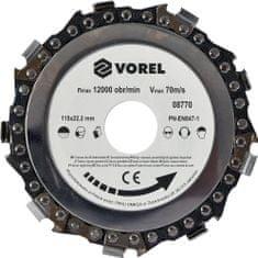 Vorel Kotouč řezný 115mm řetězový TO-08770 VOREL