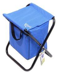 Cattara Židle kempingová skládací MALAGA modrá CATTARA