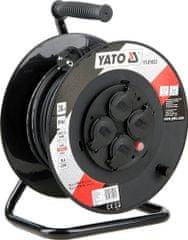 YATO Kabel prodlužovací 30m buben 4 zásuvky YT-81053 YATO