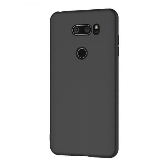 ovitek za LG Q70, silikonski, mat črn