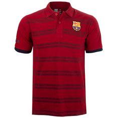 FC Barcelona N°6 polo majica, rdeča, S