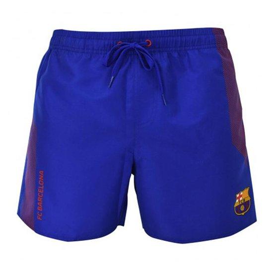 FC Barcelona N°3 kopalne kratke hlače, modre