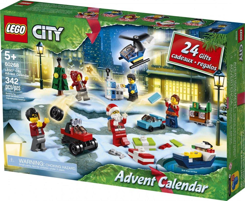 LEGO City 60268 Adventní kalendář