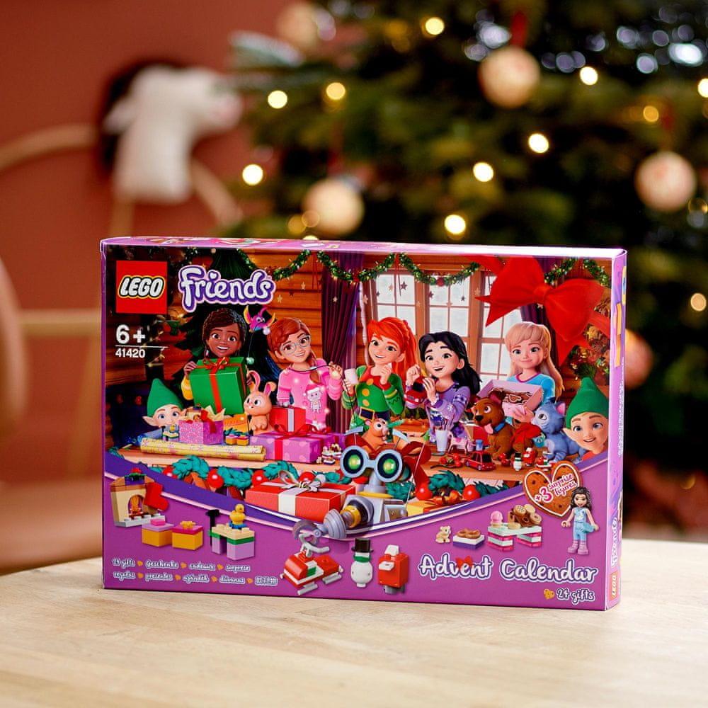 LEGO Friends 41420 Adventní kalendář - rozbaleno