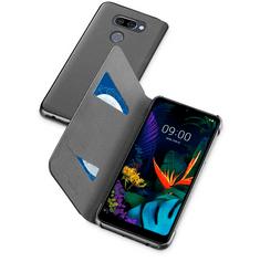 CellularLine torbica za LG K50/Q60, preklopna, črna