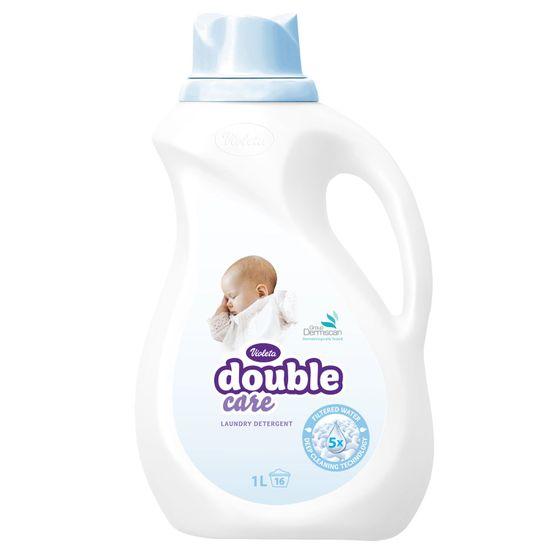 Violeta Double Care gel za perilo, 1 l