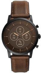 Fossil FTW7008 Hybrid Watch M Dark Brown Leather - zánovní