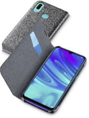 CellularLine ovitek za Huawei Y6 (2019), preklopni, črn