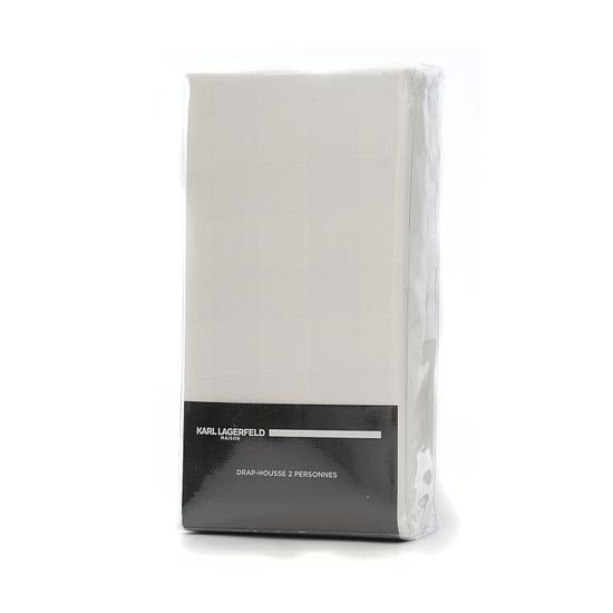 Karl Lagerfeld Lagerfeld elastické prostěradlo 160x200 cm Frame