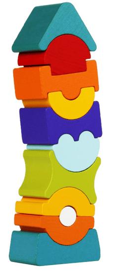 CUBIKA 12862 Balanční věž IX 11 ks