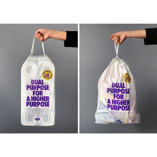 Violeta Dual Purpose toaletni papir, recikliran, 3-slojni, 16/1