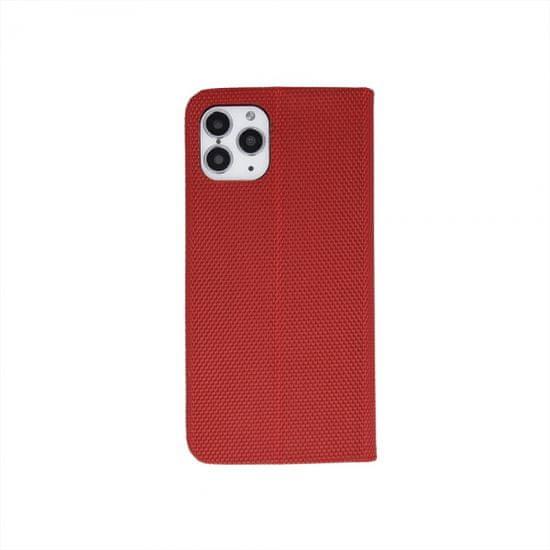 Onasi Moon ovitek za Huawei P40 Lite, preklopni, magnetni, rdeč