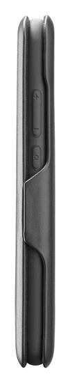 CellularLine Clutch ovitek za Huawei P40 Lite, preklopni, črn
