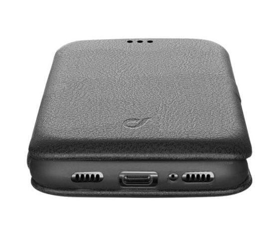 CellularLine Clutch torbica za Huawei P40, preklopna, črna