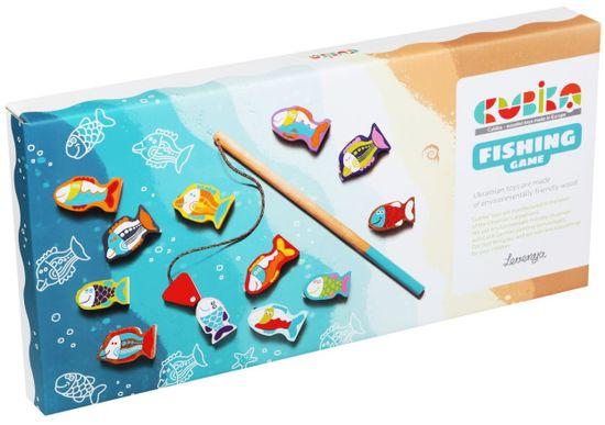 CUBIKA 13739 Rybolov dřevěná hra 14 dílů