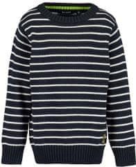 Blue Seven fantovski pulover, temno moder, 110