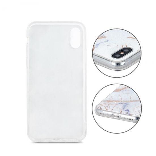Marmor ovitek za Samsung Galaxy Note 10 Lite N770 / Galaxy A81 A815, silikonski, bel