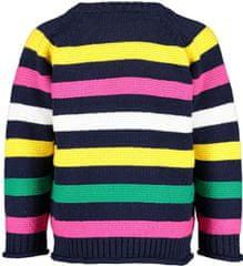 Blue Seven dekliški pulover, 74, temno moder