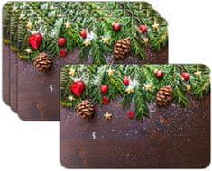 RoomDecor.eu Vianočné prestieranie-084, 4 Ks