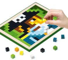 CUBIKA 14910 Pixel V piráti - dřevěná mozaika 400 kostiček