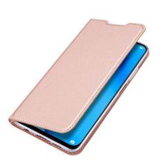 Dux Ducis Skin Pro knjižni usnjeni ovitek za Huawei P40 Lite, roza