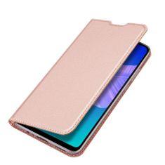 Dux Ducis Skin Pro knjižni usnjeni ovitek za Huawei P40 Lite E, roza