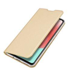 Dux Ducis Skin Pro knjižni usnjeni ovitek za Samsung Galaxy A41, zlato