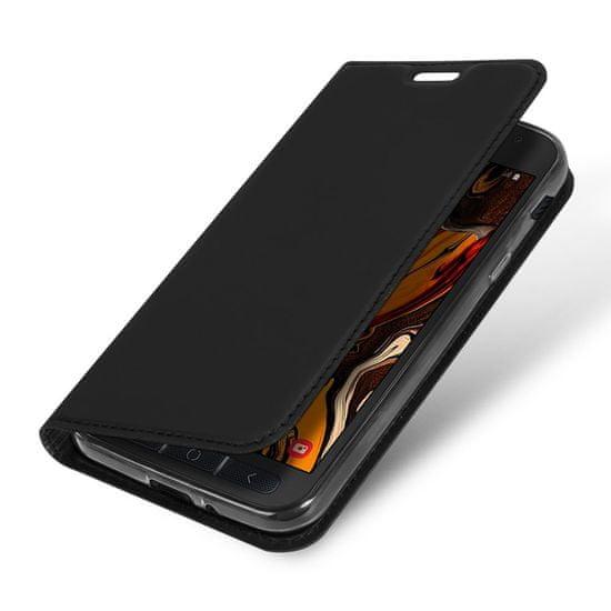 Dux Ducis Skin Pro knjižni usnjeni ovitek za Samsung Galaxy Xcover 4s, črna