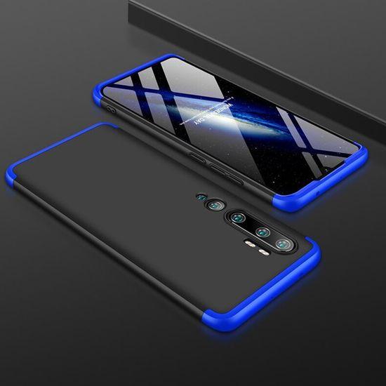 GKK 360 Full Body plastika ovitek za Xiaomi Mi Note 10 / Mi Note 10 Pro, črna/rdeča