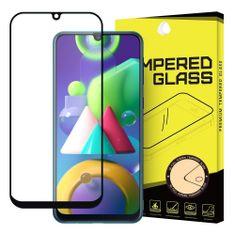 MG Full Glue Super Tough zaščitno steklo za Samsung Galaxy M21, črna