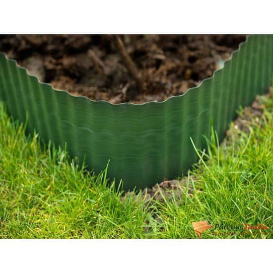 shumee Nature Obrzeże ogrodowe, 0,2 x 9 m, zielone
