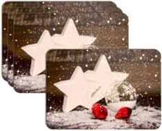 RoomDecor.eu Vánoční prostírání-096, 4 Ks