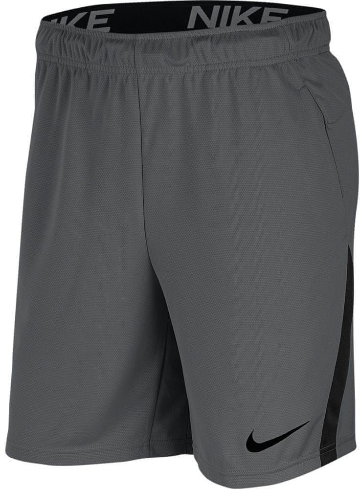 Nike pánské kraťasy NK DRY SHORT 5.0 XXL, šedá