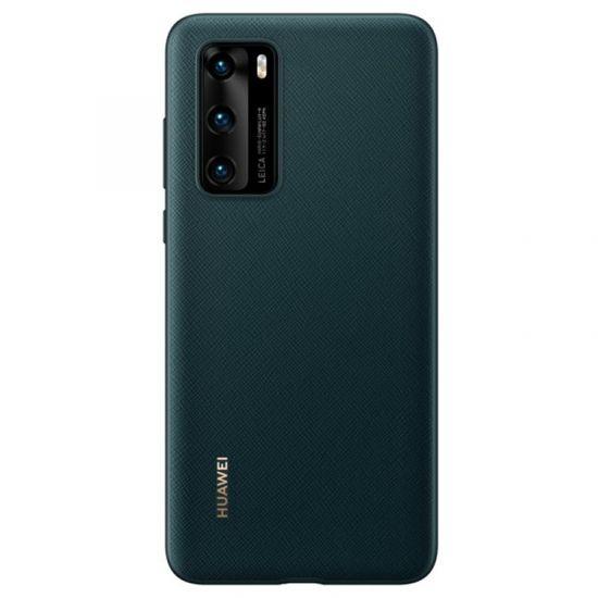 Huawei P40 ovitek, temno zelen