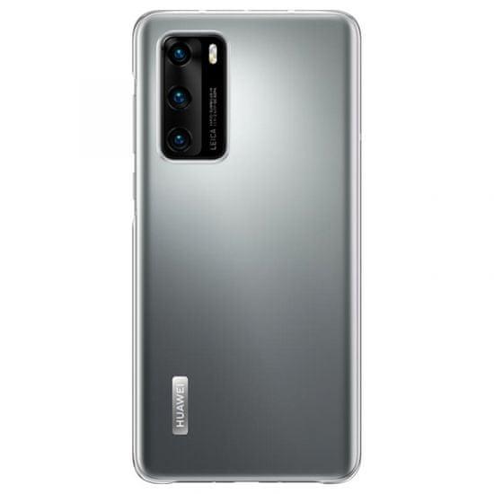 Huawei P40 ovitek, silikonski, prozoren