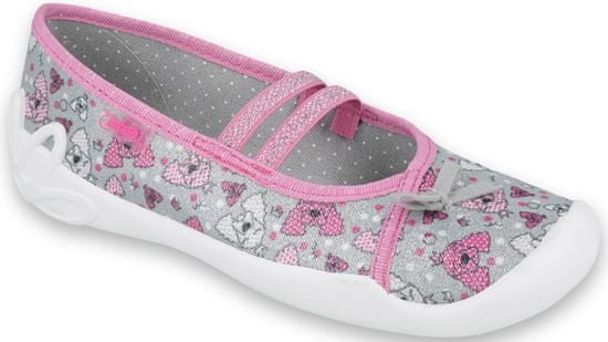 Befado dievčenské papučky Blanca 116Y273
