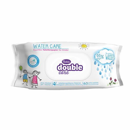 Violeta Double Care toaletni papir Water Care, vlažilni, 60/1