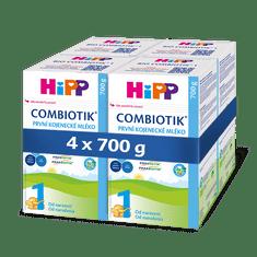 HiPP 1 BIO Combiotik Počáteční mléčná kojenecká výživa 4x700 g