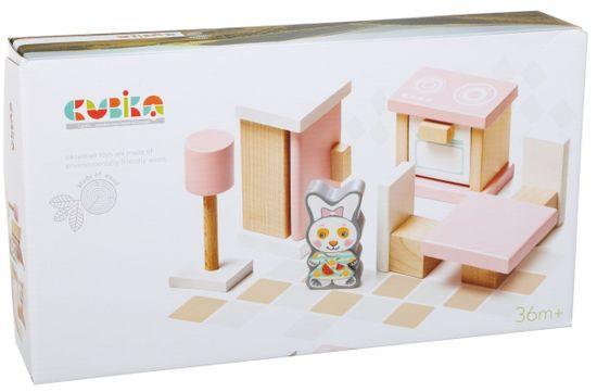 CUBIKA 13975 Kuchyňka - dřevěný nábytek pro panenky