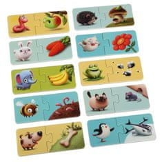 Puzzlika 12992 Az ételem - fejlesztő puzzle, 20 darabos