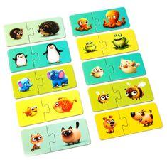 Puzzlika 13531 Moje rodina - naučné puzzle 20 dílků