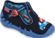 Befado chlapecké bačkorky Speedy 110P385 19, tmavě modrá