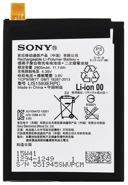Sony 1294-1249 Baterie 2 900 mAh Li-Polymer (Bulk) 2438966