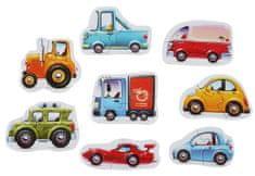 Puzzlika 15245 Járművek puzzle 8 jármű - 16 darabos