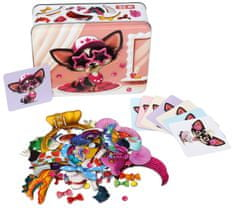 Puzzlika magnetna igra Chihuahua - pseća moda 14279, 8 modela, 50 komada