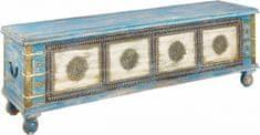 Danish Style Truhla Eras, 145 cm, modrá