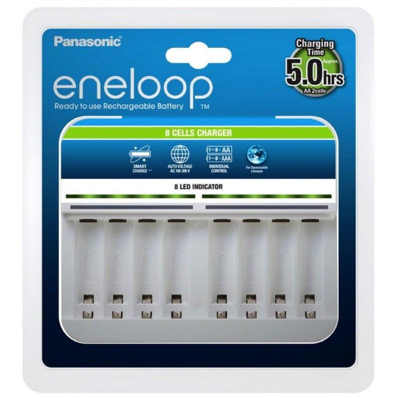 Panasonic Eneloop nabíječka BQ-CC63 pro 8 baterií
