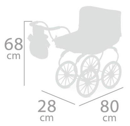 DeCuevas 87033 košara za lutke Martina